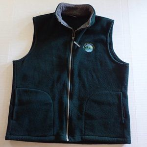 Chuck Roast New Hampshire State Park Fleece Vest M